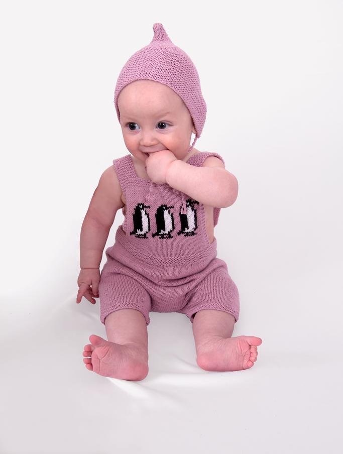 Babybyxa och mössa