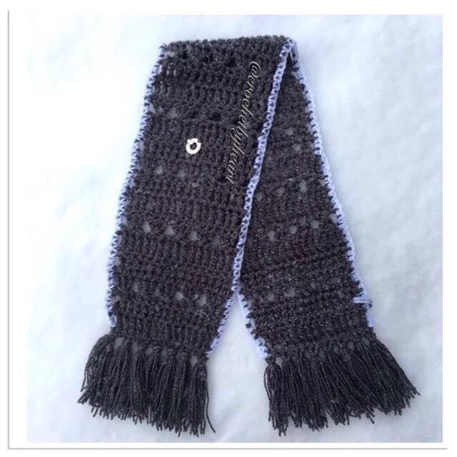 Halsduk crochetbyheart