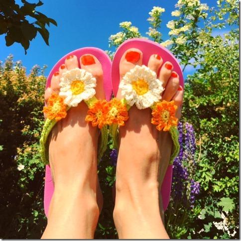 Flip Flops för sommarfötter